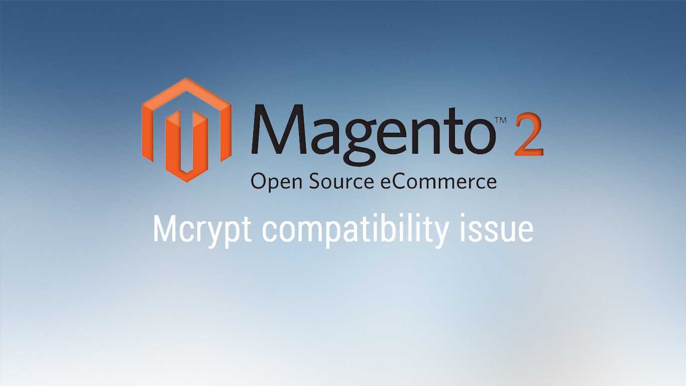 Fix m-crypt module open is deprecated