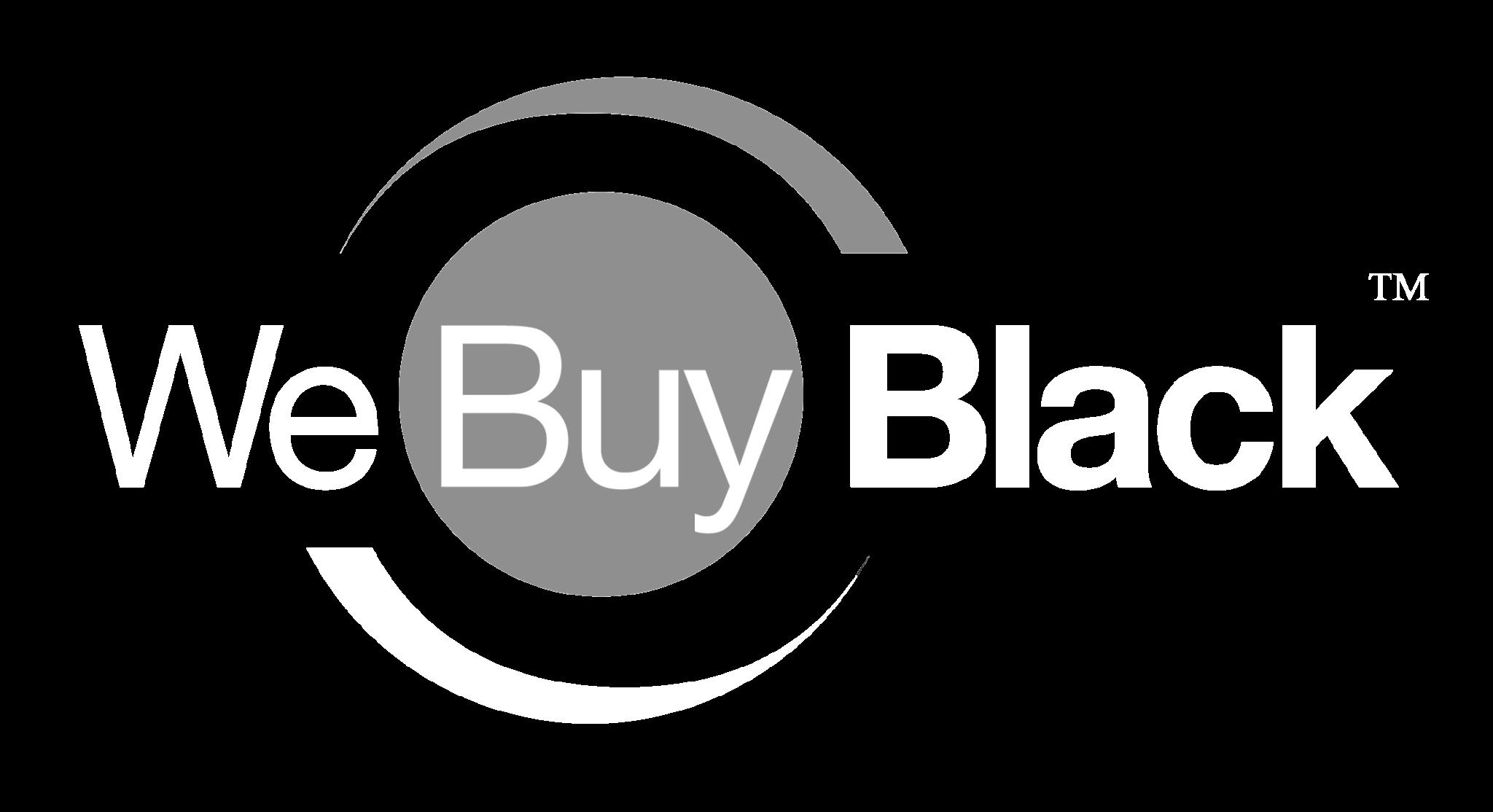 WeBuyBlack Logo White