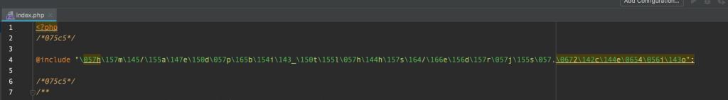 Wordpress Malware Code Snippet