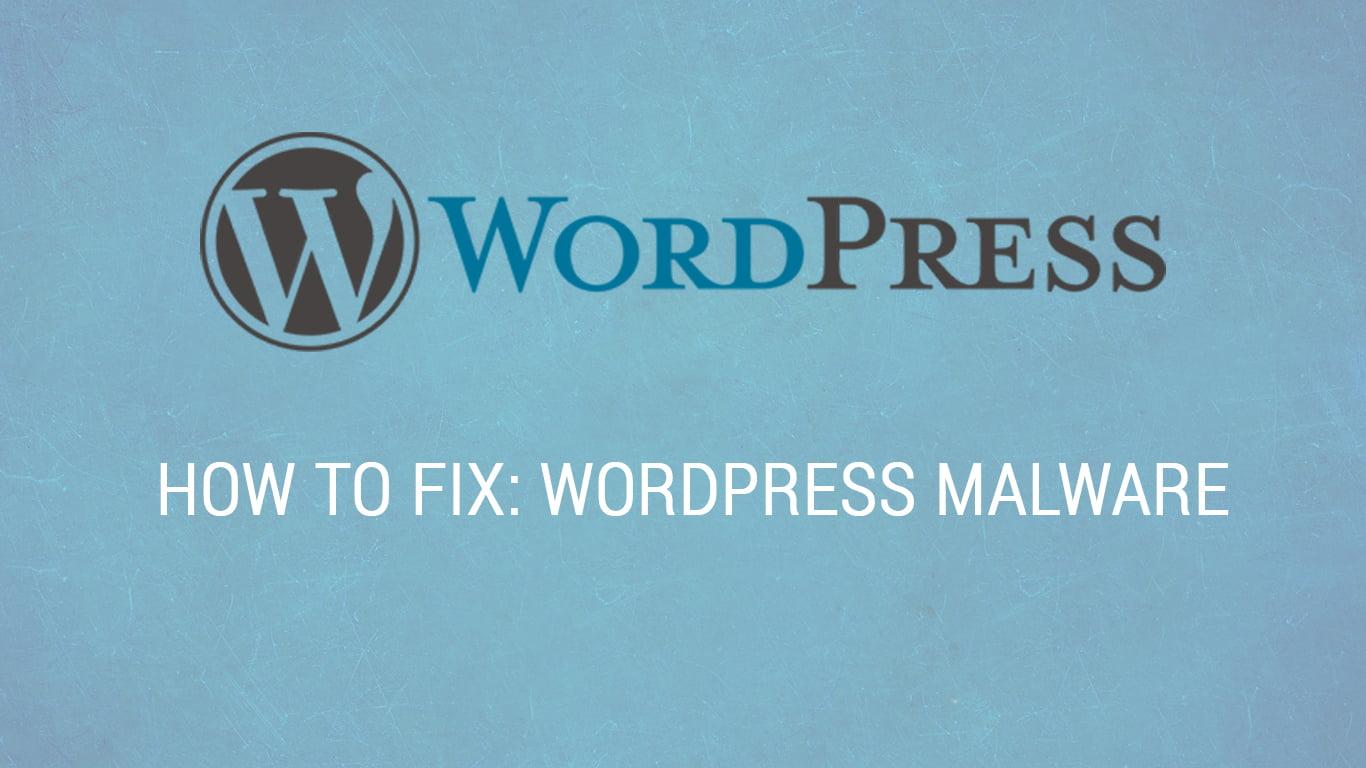 How to Fix Wordpress Website Malware | MageHD
